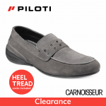 Piloti Primo Driving Shoes Grey Suede