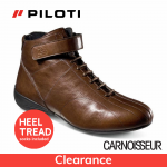Piloti Le Mans 24hr Ligne Driving Shoes Cognac Leather