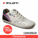 Piloti Le Mans 24hr Circuit Driving Shoes Cement Leather