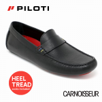 Piloti James Hunt 76 Special Edition Black and Red Loafers