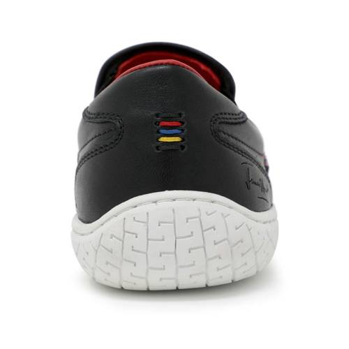 0054b64ec81 Piloti James Hunt 10 Special Edition Black and Red Slip On Shoes Thumbnail  ...