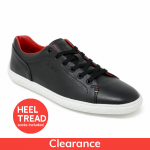 Piloti James Hunt 11 Special Edition Black and Red Trainers