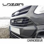 Lazer LED Lamps Grille Integration Kit to fit Ford Transit