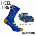Heel Tread Scooby Socks