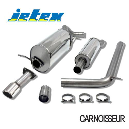 Half Exhaust System Audi A1 (8X) 1.2TSI (from 2011 onwards)