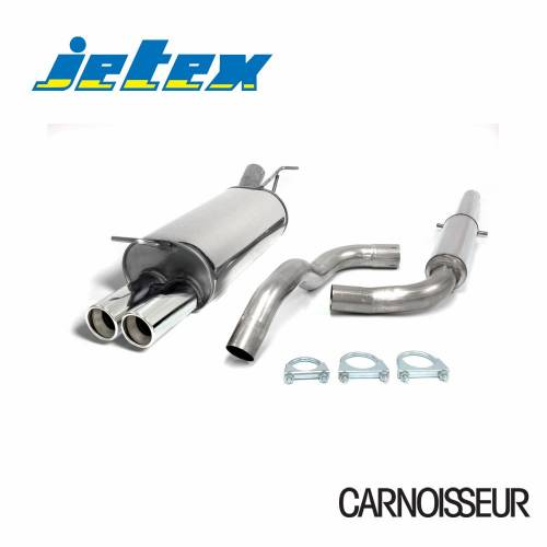 Jetex Half Exhaust System To Fit: Volkswagen Beetle 1 8 Turbo 1 8 Turbo  (from 1998 onwards)