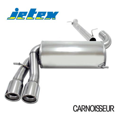 Exhaust Back Box Audi A3 (8P) Petrol Turbo Sportback (03+) 1.8/2.0 Turbo FSi Sportback (from 2005 onwards)