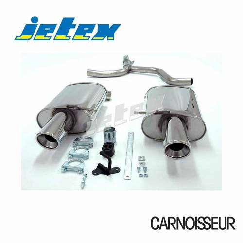 Exhaust Back Boxes Audi A4 (B6) 2WD Non Turbo + TDI (01-05) 1.6/2.0/1.9TDI (not Quattro) (up to 2005)