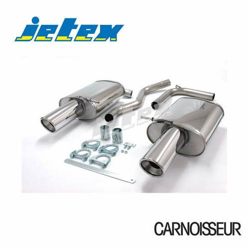 Exhaust Back Boxes Audi A4 (B6) 2WD Petrol Turbo (01-05) 1.8T Saloon/Estate (also cabriolet B6/B7 01-09) (from 2001 to 2005)
