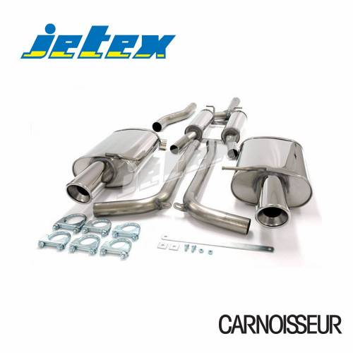 Half Exhaust System Audi A4 (B6) Quattro Turbo (01-05) 1.8T Saloon/Estate (also cabriolet B6/B7 01-09) (from 2001 to 2005)