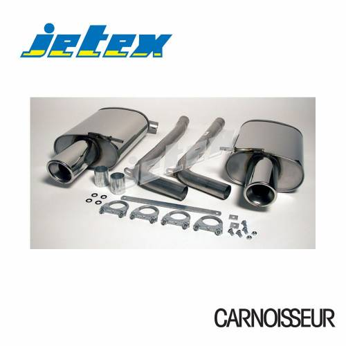 Exhaust Back Boxes Audi A4 (B6) Quattro Turbo (01-05) 1.8T Saloon/Estate (also cabriolet B6/B7 01-09) (from 2001 to 2005)