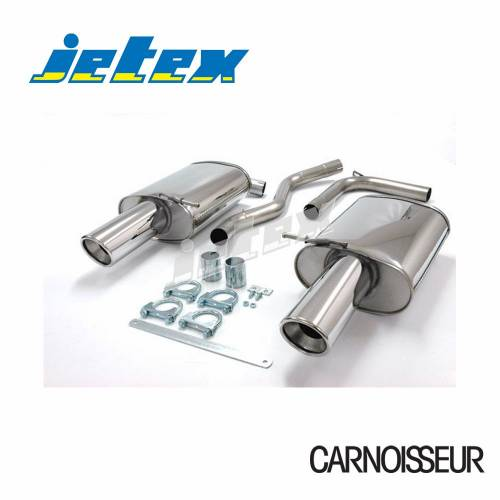 Exhaust Back Boxes Audi A4 (B7) 2WD 1.8T/2.0TFSi Saloon/Estate (not cabriolet) (from 2005 onwards)