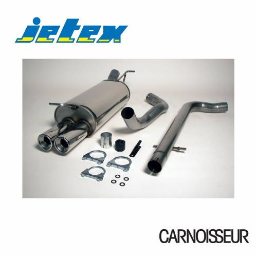 Half Exhaust System (non-resonated with racepipe) Audi A3 (8L) Non-Turbo + TDI 1.6/1.8/1.9TDI (from 1996 to 2003)