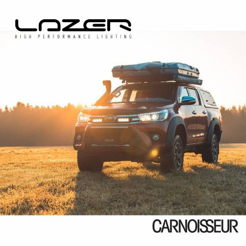 Lazer LED Lamps Grille Integration Kit to fit Toyota Hilux