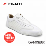 Piloti Pistone X Driving Shoes White Ballistic