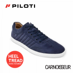 Piloti Pistone X Driving Shoes Navy Suede