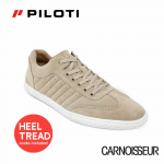 Piloti Pistone X Driving Shoes Tan Suede