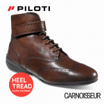 Piloti Campione Driving Shoes Brown Leather