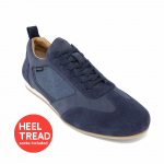 Piloti Endurance Driving Shoes Navy Nubuck Leather