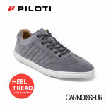Piloti Pistone X Driving Shoes Dark Grey Suede