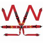 Corbeau Ultima Pro 6 Point Racing Harness - 75/75mm straps