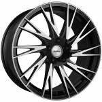 """Transporter Storm 20"""" Black Polished Alloy Wheels (Set of 4) to fit Volkswagen Transporter T5"""