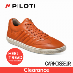 Piloti Pistone Driving Shoes Rust Leather
