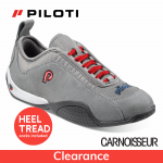 Piloti Spyder Driving Shoes Grey Suede