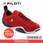 Piloti Spyder Driving Shoes Red Suede