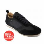 Piloti Endurance Driving Shoes Black Nubuck Leather