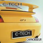 E-Tech Stainless Steel Number Plate Surround