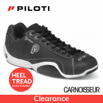 Piloti Prototipo GT Driving Shoes Black and White Leather