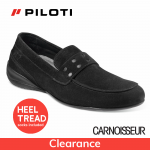 Piloti Primo Driving Shoes Black Suede